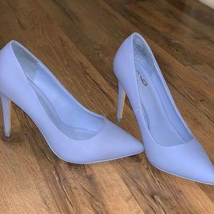Periwinkle blue heel